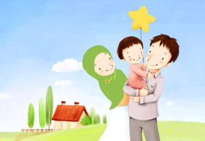 happy-muslim-family-cartoon1