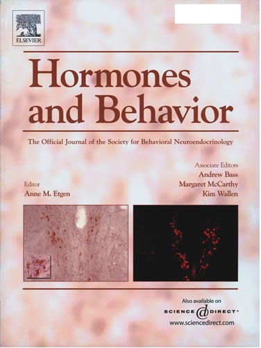 hormones n behaviour journal