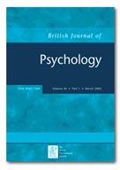 british journal of psychology