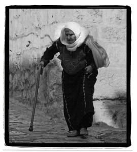 old muslim mother